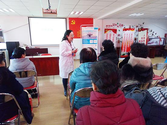 青岛安宁医院心理讲座,走进李村枣园路社区